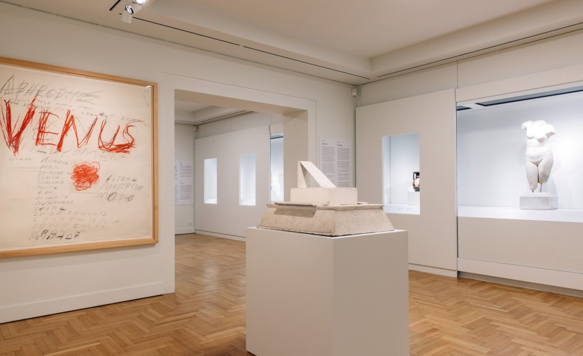 Cy Twombly's Venus (1975) in Athens