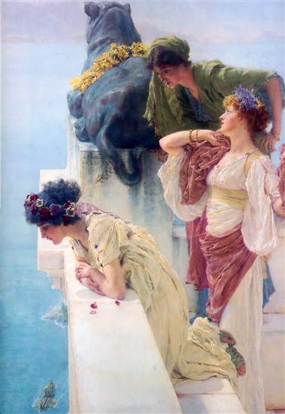 Alma-Tadema, Coign of Vantage