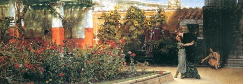 Alma-Tadema, A Hearty Welcome