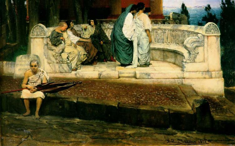 Alma-Tadema, An Exedra, 1869