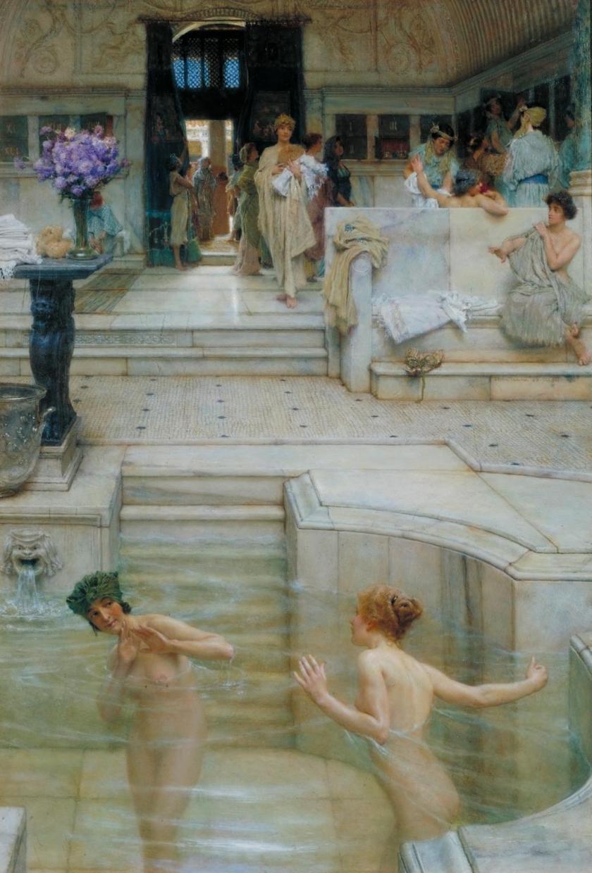 Alma-Tadema, A Favourite Custom