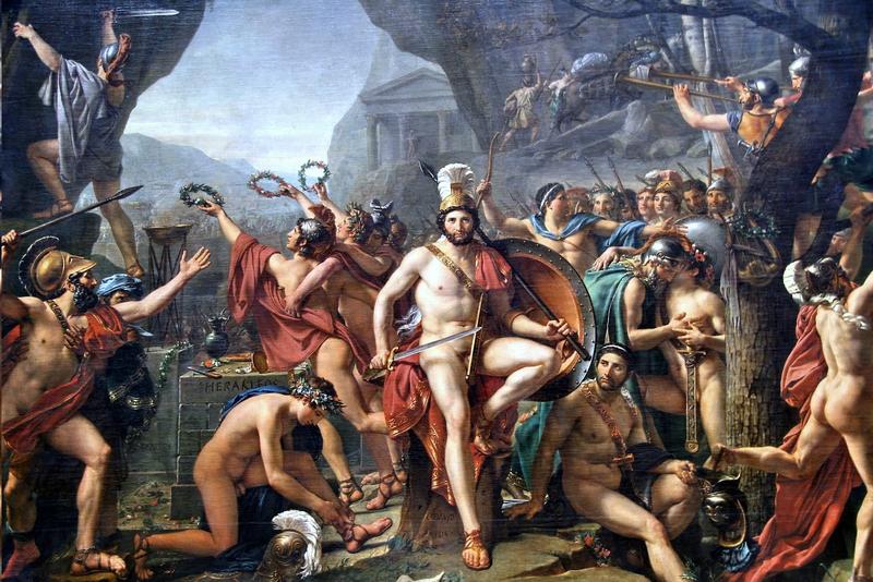 David's Leonidas at Thermopylae