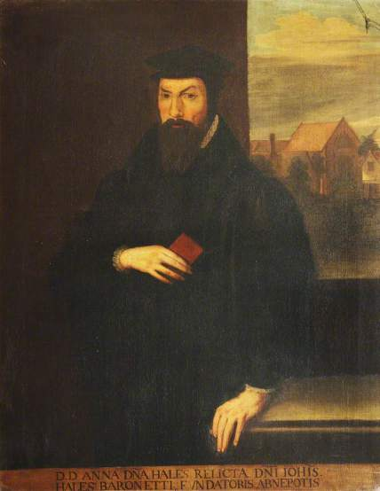 Portrait of John Hales (1584–1656)