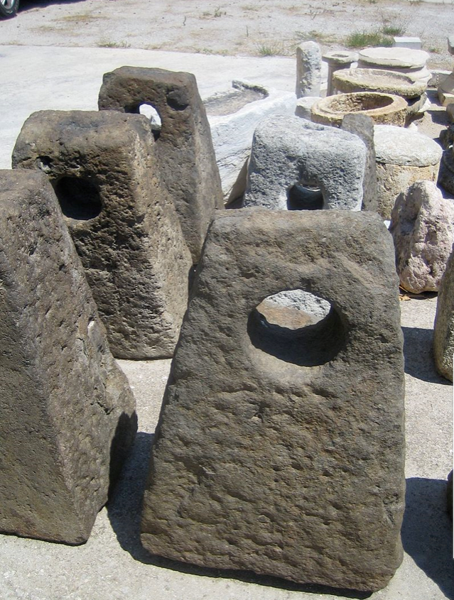 Hellenistic stone anchors