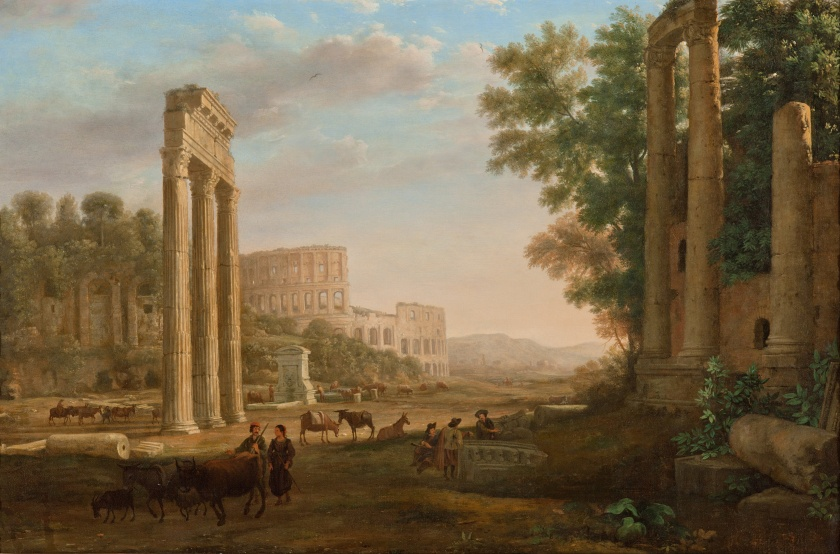 Claude - Capriccio with Ruins of the Roman Forum