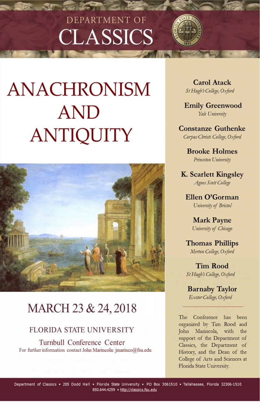 Anachronism and Antiquity poster