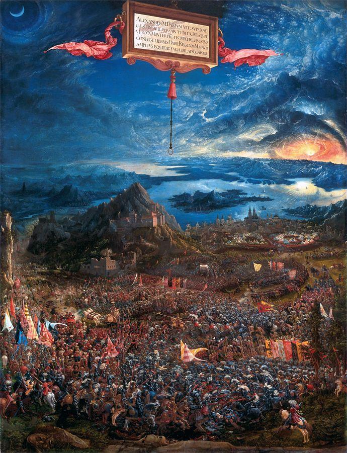 Altdorfer's Alexanderschlacht