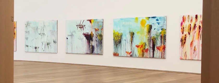 Cy Twombly's Lepanto (2001), Museum Brandhorst, Munich