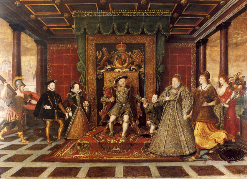 The Family of Henry VIII, group portrait