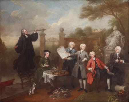 The Hervey Conversation Piece, by William Hogarth (1697-1764), Ickworth House, Suffolk.
