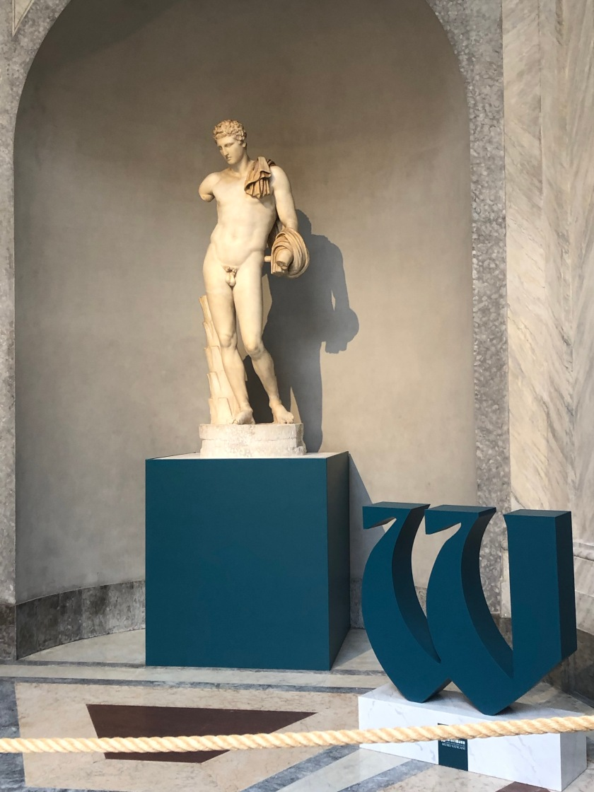 Belvedere Hermes and giant Winckelmann W