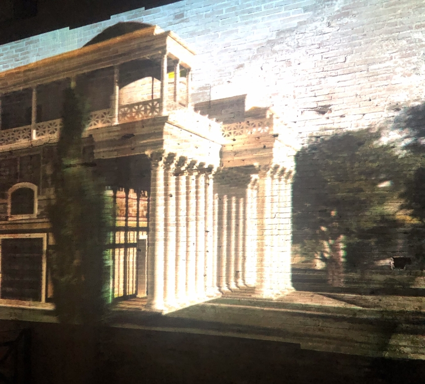 Domus Aurea video projection