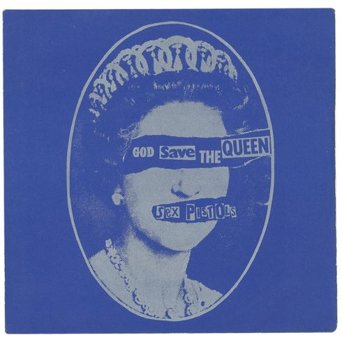 'God Save the Queen' single sleeve